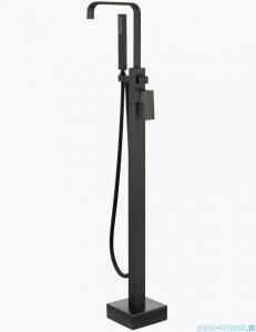 Besco Modern I bateria wannowa wolnostojąca czarny mat BW-MI-CZ