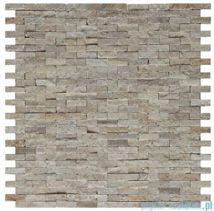 Dunin Zen mozaika kamienna 30x30 travertine brick