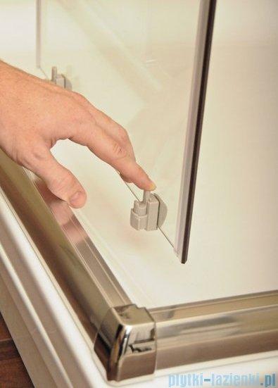 Ravak Blix BLDP4 drzwi prysznicowe 150cm satyna transparent Anticalc 0YVP0U00Z1