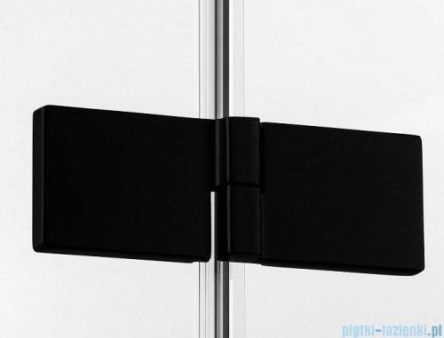 New Trendy Avexa Black kabina prostokątna 110x100x200 cm przejrzyste lewa EXK-1830