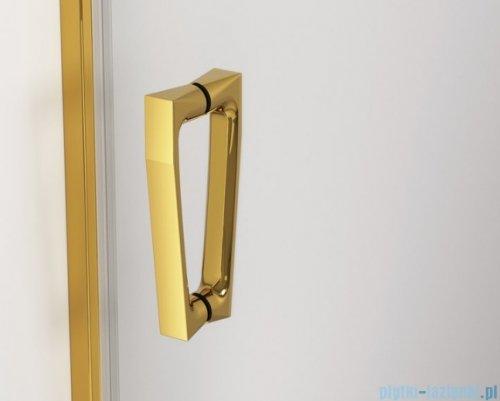 SanSwiss Cadura Gold Line drzwi przesuwne 120cm jednoskrzydłowe prawe z polem stałym CAS2D1201207