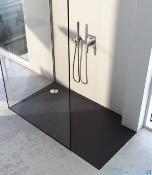 Schedpol Schedline  Libra Black Stone brodzik prostokątny 110x80x3cm 3SP.L6P-80110