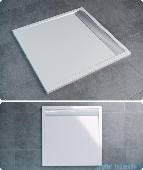 SanSwiss Ila WIQ Brodzik kwadratowy 90x90cm kolor biały/połysk WIQ0905004