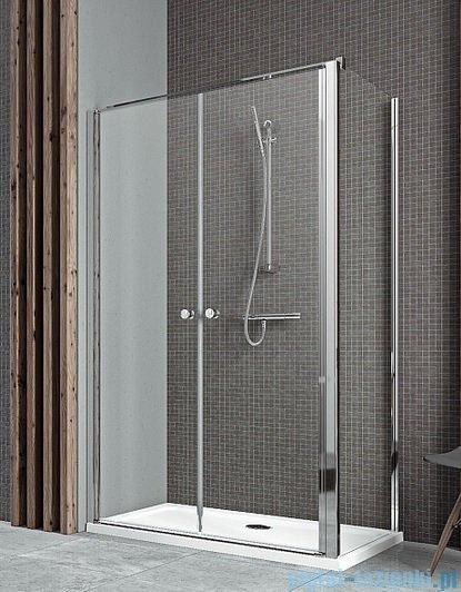 Radaway Eos II DWD+S kabina prysznicowa 110x75cm lewa szkło przejrzyste