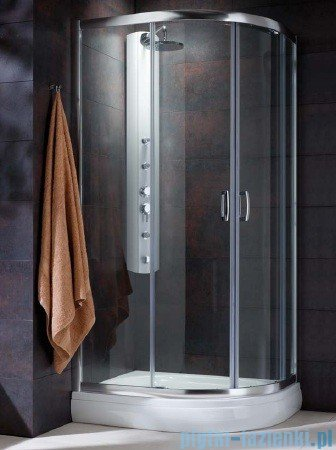 Radaway Premium Plus E Kabina prysznicowa 120x90 szkło satinato 30493-01-02N