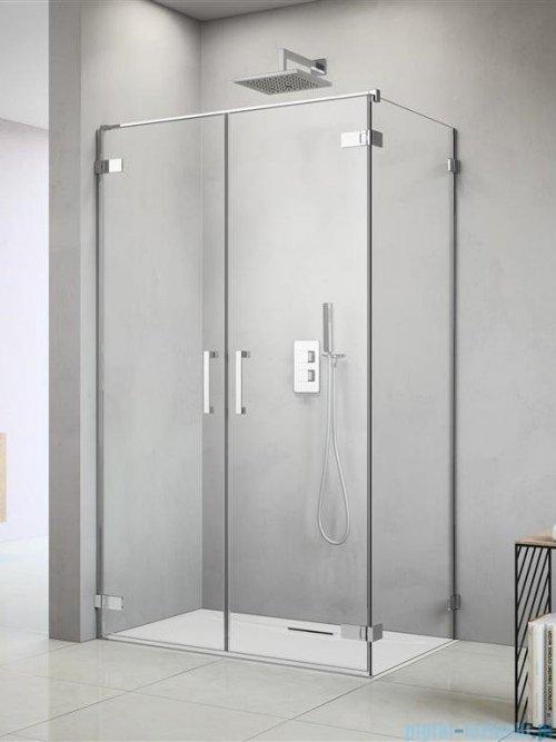 Radaway Arta Dwd+s kabina 100 (45L+55R) x100cm lewa szkło przejrzyste