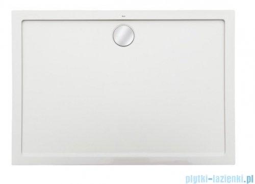 Roca Aeron brodzik prostokątny 160x80x3,5cm biały + syfon A276287100