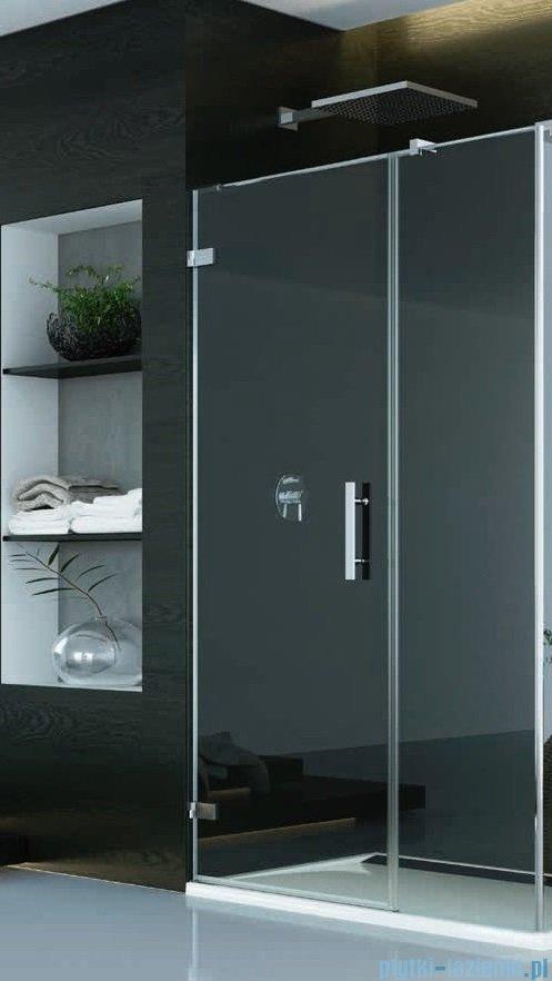 SanSwiss Pur PU31P Drzwi lewe wymiary specjalne do 160cm efekt lustrzany PU31PGSM21053