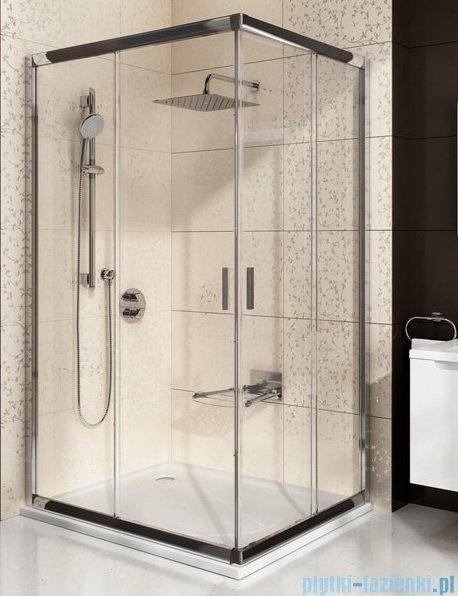 Ravak Blix BLRV2K drzwi prysznicowe 1/2 100cm białe transparent Anticalc 1XVA0100Z1