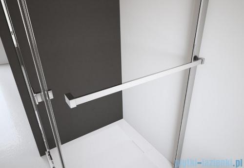 Espera KDJ Kabina Radaway prysznicowa 100x80 prawa szkło przejrzyste wieszak na ręcznik