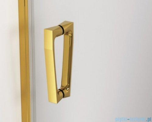 SanSwiss Cadura Gold Line drzwi przesuwne 160cm jednoskrzydłowe prawe z polem stałym CAS2D1601207