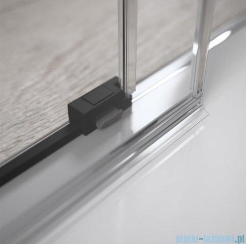 Radaway Idea Black Kdj kabina 100x75cm prawa szkło przejrzyste 387040-54-01R/387049-54-01L
