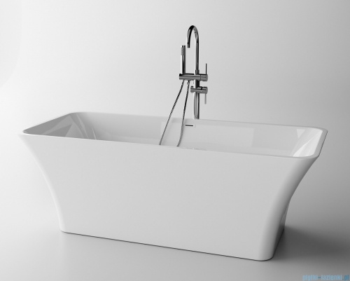 The North Bath Skadi wanna wolnostojąca 170x80cm + syfon Klik-klak 6602-1701