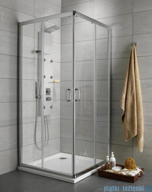Radaway Premium Plus C Kabina kwadratowa 80x80 szkło satinato