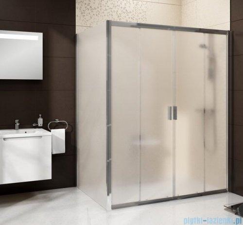 Ravak Blix BLDP4 drzwi prysznicowe 150cm satyna grape Anticalc 0YVP0U00ZG