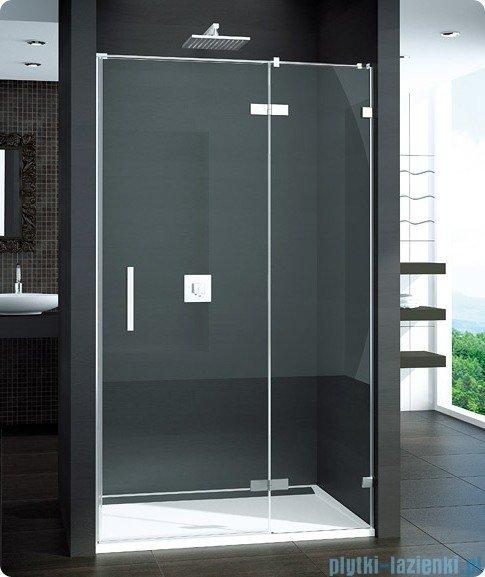 SanSwiss Pur PU13 Drzwi 1-częściowe wymiar specjalny profil chrom szkło przejrzyste Prawe PU13DSM11007