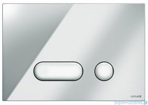 Cersanit Intera przycisk spłukujący 2-funkcyjny chrom S97-020