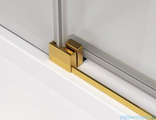 SanSwiss Cadura Gold Line kabina Walk in 150cm prawa ze ścianką przesuwną CAW2D1501207