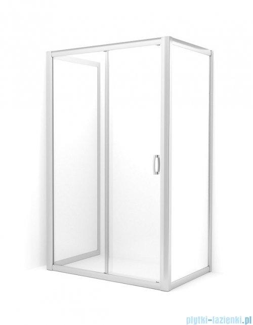 Radaway Premium Plus DWJ+2S kabina przyścienna 90x100x90cm szkło przejrzyste