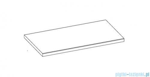 Elita blat marmurowy 122x50cm black mat 168398