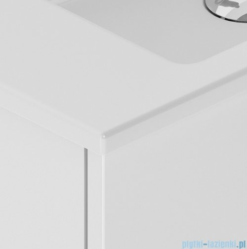 New Trendy Frea szafka wisząca podumywalkowa 60 cm biały połysk ML-8081
