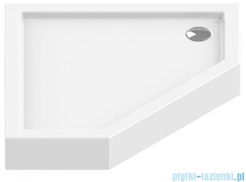 New Trendy New Azura brodzik pięciokątny zintegrowany z obudową 90x90x15 cm
