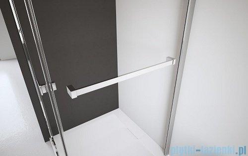 Kabina prysznicowa Radaway Eos KDJ-B 80x100 prawa szkło przejrzyste wieszak na ręcznik