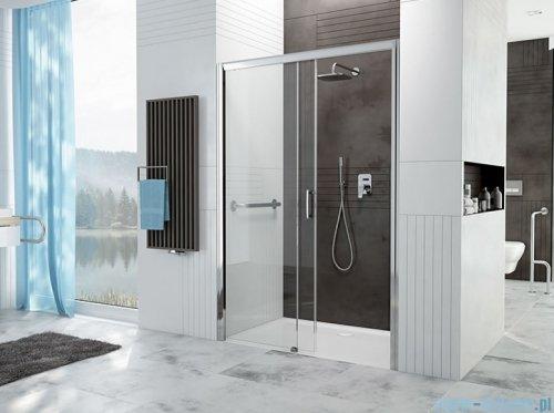 Sanplast Free Zone drzwi przesuwne D2L/FREEZONE 150x190 cm lewe przejrzyste 600-271-3210-38-401