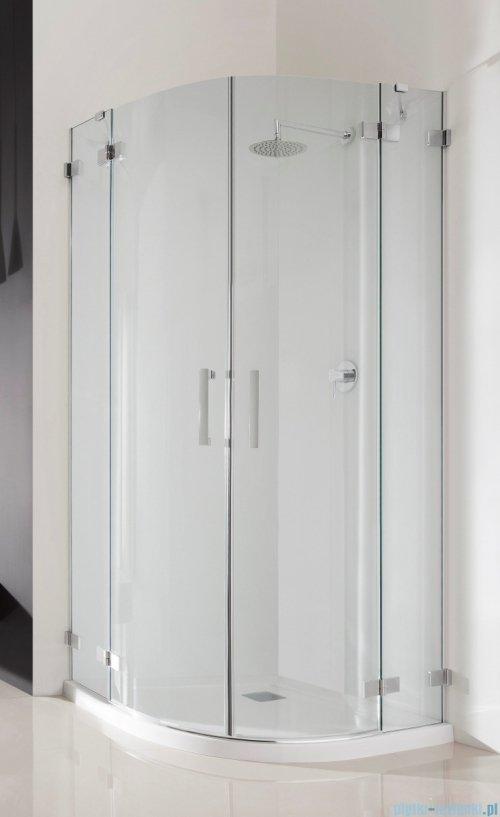 Radaway Euphoria PDD Kabina prysznicowa 80x80 szkło przejrzyste UltraClear