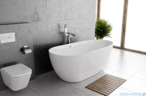 The North Bath Loki wanna wolnostojąca 170x80cm + Syfon Klik-klak wizualizacja wanna stojąca