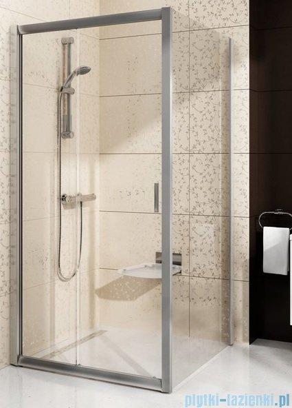 Ravak Blix BLDP2 drzwi prysznicowe 120cm białe transparent Anticalc 0PVG0100Z1