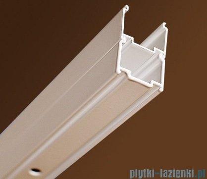 Ravak Blix BLPS ścianka boczna stała 100cm aluminium grape Anticalc 9BHA0C00ZG