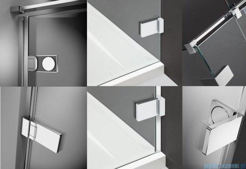 Radaway Arta Kds I kabina 100x90cm prawa szkło przejrzyste + brodzik Doros D + syfon