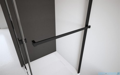 Radaway Modo New Black III kabina Walk-in 65x80x200 Frame 389065-54-56/389084-54-56/389000-54