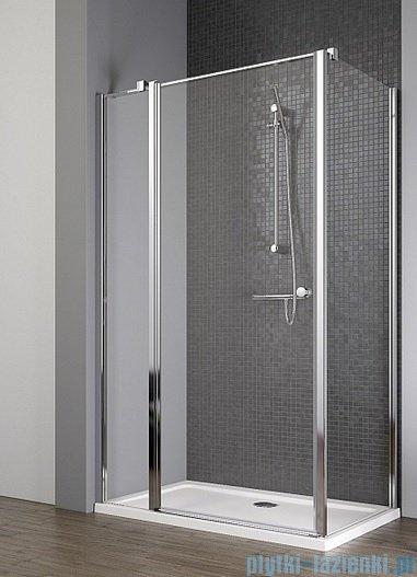 Radaway Eos II KDJ kabina prysznicowa 120x80 lewa szkło przejrzyste + brodzik Argos D + syfon