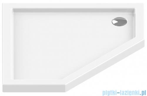 New Trendy New Azura brodzik pięciokątny 90x90x6 cm