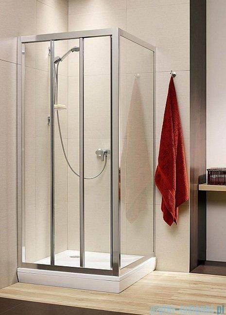 Radaway Treviso DW+S kabina 120x80 szkło brązowe