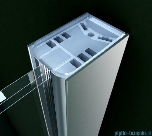 Clusi Ares kabina Walk-in z ścianką boczną 120x200 cm przejrzyste 3329ARE120