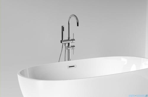 The North Bath Odin wanna wolnostojąca 150x80cm + syfon Klik-klak wizualizacja wanna stojąca