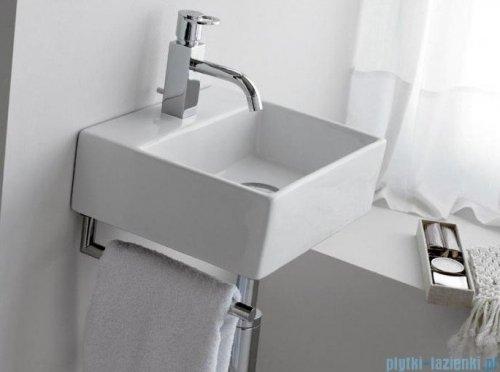 Bathco umywalka nablatowa Bergamo 33x30 cm 0010B