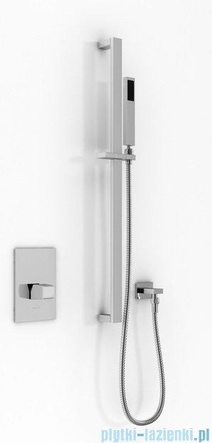 Kohlman Lexis zestaw prysznicowy chrom