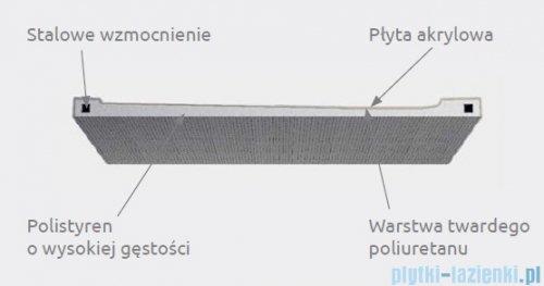 Radaway Doros Plus D Brodzik prostokątny 100x90x4cm SDRPD1090-01