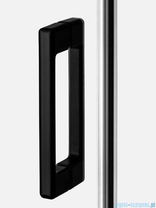 New Trendy Prime Black kabina prostokątna 130x100x200 cm prawa przejrzyste D-0323A/D-0130B