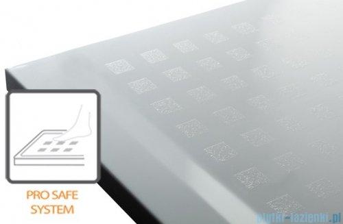 Sanplast Space Mineral brodzik prostokątny z powłoką B-M/SPACE 100x120x1,5cm+syfon 645-290-0650-01-002