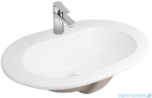 Oltens Kjos umywalka 52x43 cm wpuszczana w blat 41200000