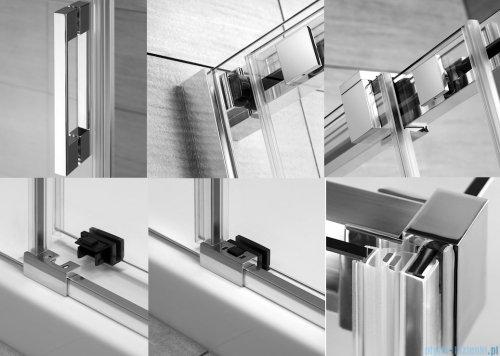 Radaway Espera KDJ Mirror kabina prysznicowa 120x80 lewa szkło przejrzyste 380595-01L/380232-71L/380148-01R