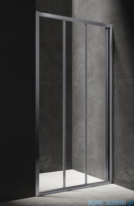 Omnires Bronx drzwi prysznicowe 110x185cm przejrzyste S20A3110CRTR