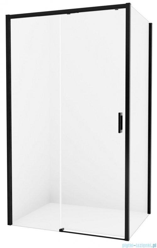 New Trendy Prime Black kabina prostokątna 130x80x200 cm lewa przejrzyste D-0322A/D-0128B