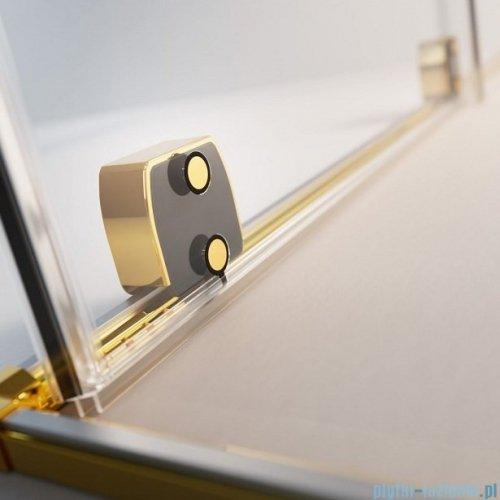 Radaway Furo Gold PND II parawan nawannowy 160cm prawy szkło przejrzyste 10109838-09-01R/10112794-01-01