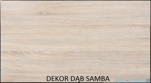 Antado Spektra ceramic szafka podumywalkowa 82x43x40 dąb samba 670082
